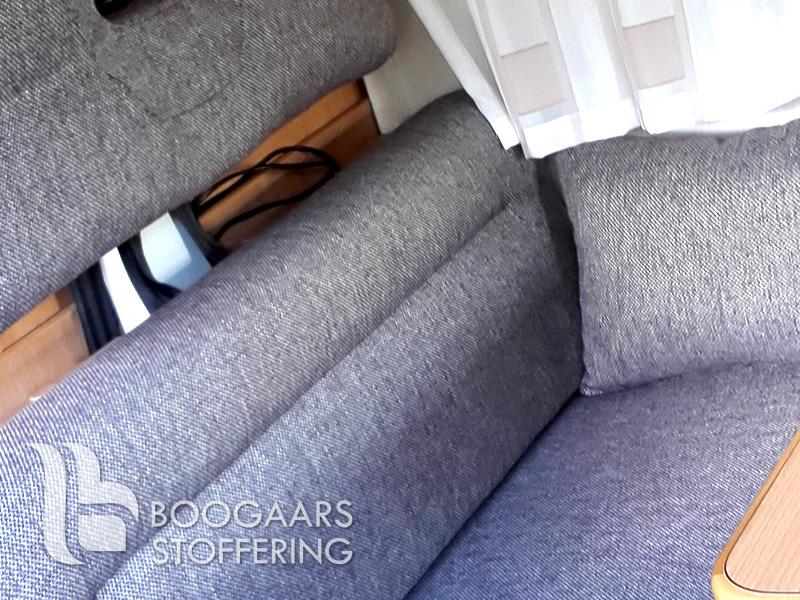 www.boogaars.eu stofferen stoffering meubels meubelen caravan camper auto boot repareren reinigen reiniging zevenaar liemers gelderland www.boogaars.eu